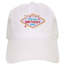 Las Vegas Birthday Girl Baseball Cap