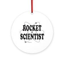 ROCKET SCIENTIST Ornament (Round)