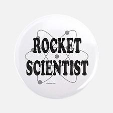 """ROCKET SCIENTIST 3.5"""" Button"""