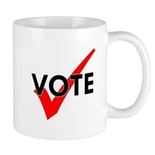 vote light Mugs