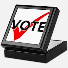 Unique Register vote Keepsake Box