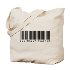 Sociology Teacher Barcode Tote Bag