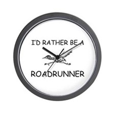 I'd Rather Be A Roadrunner Wall Clock