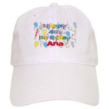 Ana's is four years old and Baseball Cap