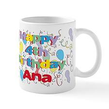 Ana's is four years old and Mug