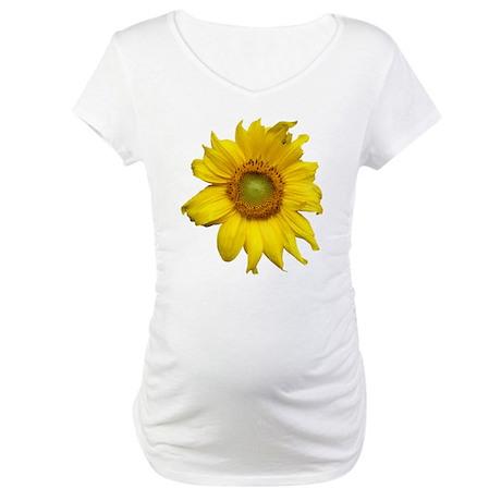 Sunflower Maternity T-Shirt