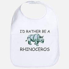I'd Rather Be A Rhinoceros Bib