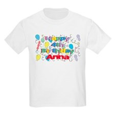 Anna's is four years old and T-Shirt
