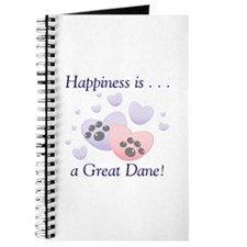 Happiness is...a Great Dane Journal