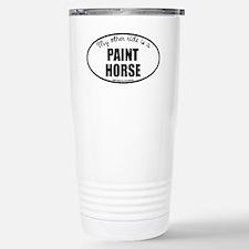American Paint Horse Stainless Steel Travel Mug