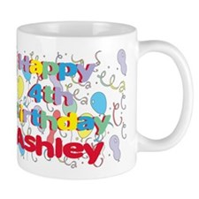 Ashley's is four years old a Mug