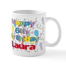 Laura's 6th Birthday Mug