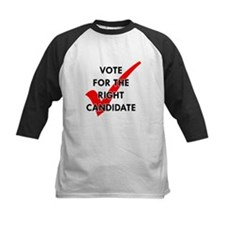 Vote For The Right Candidate Tee