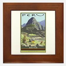 Peru Framed Tile