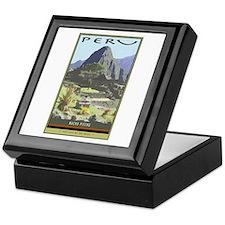Peru Keepsake Box