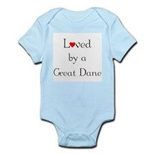 Loved by a Great Dane Infant Creeper