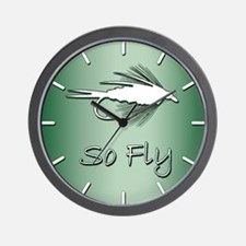 SO FLY - Wall Clock