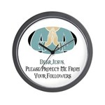 Jesus Followers Wall Clock