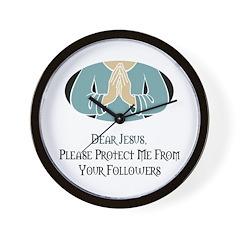 Jesus Followers Wall Clock
