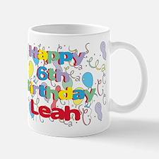 Leah's 6th Birthday Mug