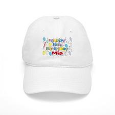 Mia's 5th Birthday Baseball Cap