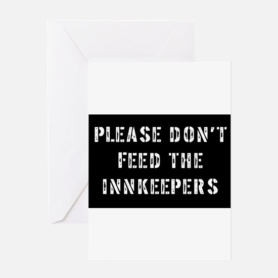 innkeepers Greeting Card