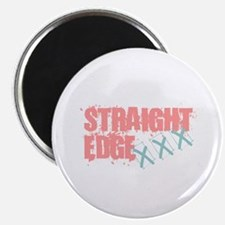 Straight Edge Girls Magnet