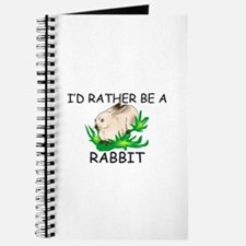 I'd Rather Be A Rabbit Journal
