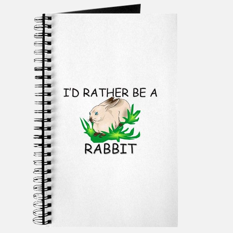 I'd Rather Be A Rabbit Journal