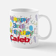 Caleb's 3rd Birthday Mug