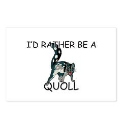 I'd Rather Be A Quoll Postcards (Package of 8)