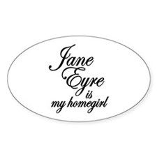 Jane Eyre Oval Stickers