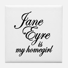 Jane Eyre Tile Coaster