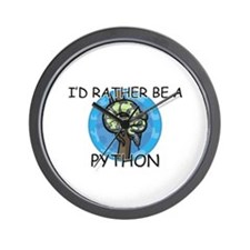 I'd Rather Be A Python Wall Clock