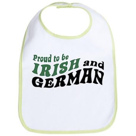 Proud Irish and German Bib