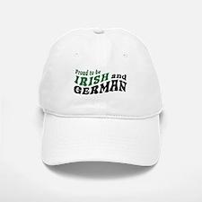 Proud Irish and German Baseball Baseball Cap