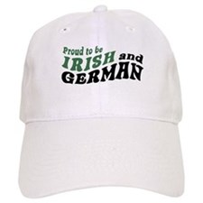 Proud Irish and German Baseball Cap