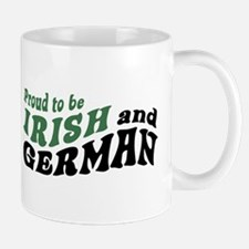 Proud Irish and German Mug