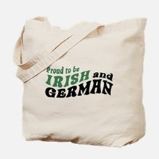 Proud Irish and German Tote Bag