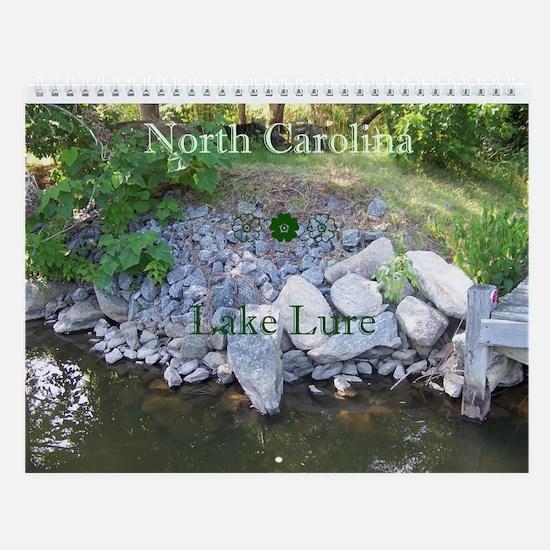 North Carolina Wall Calendar