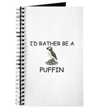 I'd Rather Be A Puffin Journal