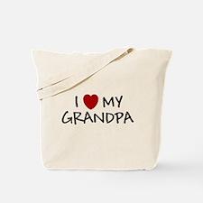 I LOVE MY GRANDPA SHIRT BABY Tote Bag