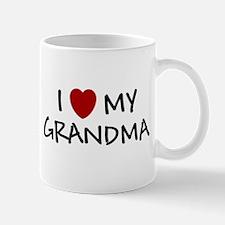 I LOVE MY GRANDMA SHIRT I HEA Mug