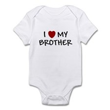 I LOVE MY BROTHER I HEART MY Infant Bodysuit