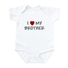 I LOVE MY BROTHER I HEART MY Onesie