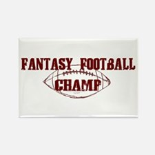 Fantasy Football Champ (new) Rectangle Magnet