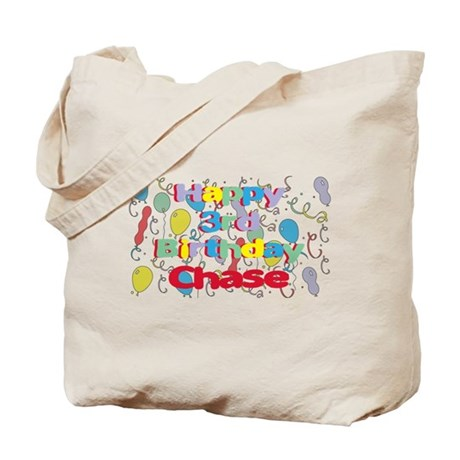 Chase's 3rd Birthday Tote Bag