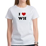 I Love WH Women's T-Shirt