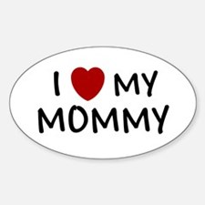 MOTHER'S DAY GIFT I LOVE MY M Oval Sticker (10 pk)