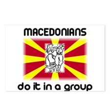 Macedonians in a Group Postcards (Package of 8)